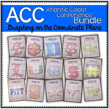 Graphing on the Coordinate Plane (ACC Bundle)