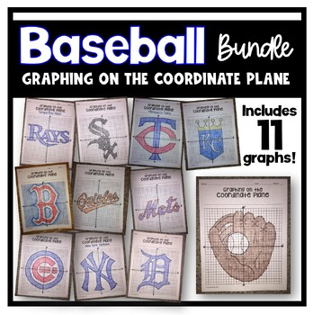 Graphing on the Coordinate Plane (Baseball Bundle)