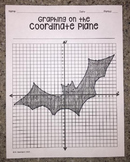 Bat (Graphing on the Coordinate Plane/ Mystery Picture)