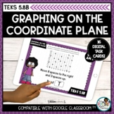 Graphing on the Coordinate Plane   Boom Cards Distance Learning