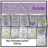 Graphing on the Coordinate Plane (EASTER Bundle)