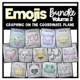 EMOJI Bundle- Volume 2 (Graphing on the Coordinate Plane/