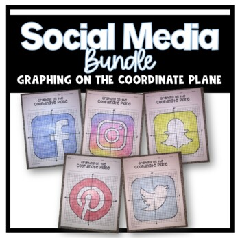 Social Media Bundle (Graphing on the Coordinate Plane)