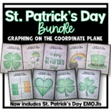 Graphing on the Coordinate Plane (St Patrick's Day Bundle)