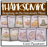 Graphing on the Coordinate Plane (Thanksgiving Bundle)