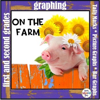 Graphing on the Farm Activities - No Prep Printables