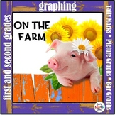 Farm Graphing - Tally Marks, Picture Graphs, Bar Graphs - Graphs and Worksheets