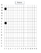"""Graphing ordered pairs on a coordinate grid-Rainbow  """"St. Patrick's Day"""""""