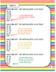 """Graphing ordered pairs on a coordinate grid-Rainbow  """"St."""