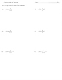 Graphing rational functions activity domain range asymptote intercepts zeros