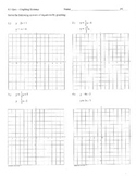 Graphing systems of equations practice quiz big graphs inc