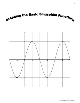 Graphing the Basic Sinusoidal Waves