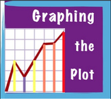 Graphing the Plot of a Story: Graphic Organizer, Notebook File and Vocab Cards
