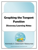 Graphing the Tangent Function - Discovery Learning Notes
