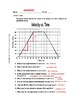 Graphing Velocity and Acceleration Worksheet