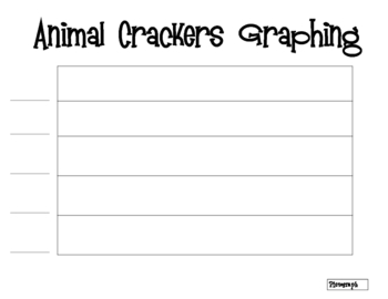 Graphing with Animal Crackers