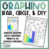 Graphing with Bar and Circle Charts in Kindergarten {Digit