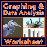 Graphing 2: Learn to Make Bar Graphs & Analyze Data - Independent Work