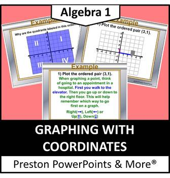 Graphing with Coordinates in a PowerPoint Presentation