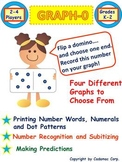 Kindergarten Math: Graphing and Early Numeracy Domino Game