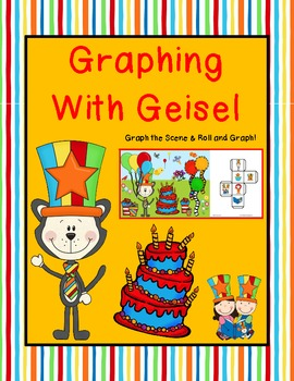 Graphing with Geisel {Graph the Scene AND Roll and Graph!}