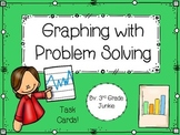 Graphing with Problem Solving Task Cards with Higher Level Thinking