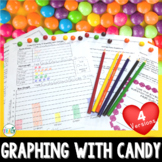 Graphing with Skittles: Tally, Pictograph, Bar Graph, and Line Plot