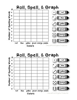 Graphing with Spelling Words