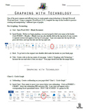 Graphing with Technology (Microsoft Word/Excel 2013)