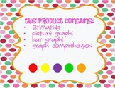 Graphing with skittles- bar graph, picture graph, estimating