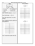 Graphing y = mx + b (Notes + Tower of Power Practice)
