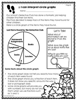 Graphing/Data Management Third Grade Worksheets (bar ...