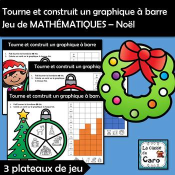 Graphique à barre Jeu de MATHÉMATIQUES – Noël