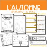 Graphisme d´automne - Je trace