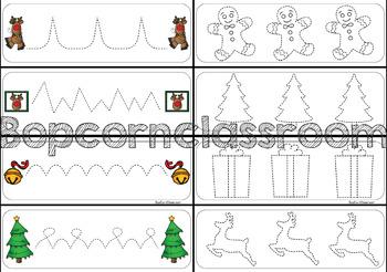 Graphisme de Noël - Je trace
