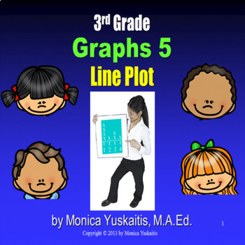 Common Core 3rd & 4th - Graphs 5 - Line Plots