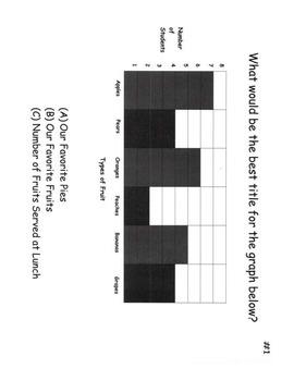 Graphs (Bar Graphs & Line Graphs) - Math Activities