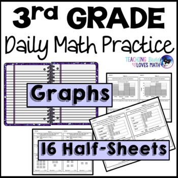 Graphs Bar Graphs and Picture Graphs Daily Math Review 3rd Grade Bell Ringers