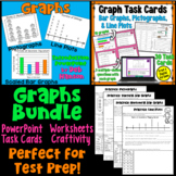 Graphs Bundle: Scaled Bar Graphs, Pictographs, and Line Plots