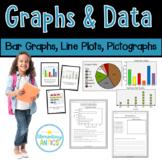 Graphs and Data- Bar Graphs, Line Plots, Pictographs