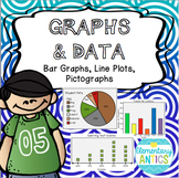 Graphs and Data- Bar Graphs, Line Plots, Pictographs