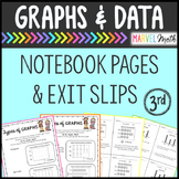 Graphs & Data Dot Plot, Bar Graph, Pictograph Exit Slips by Marvel Math