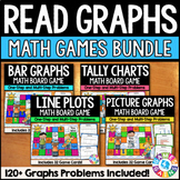 3rd Grade Graphs: Line Plots, Bar Graphs, Picture Graphs Bundle {3.MD.3, 3.MD.4}