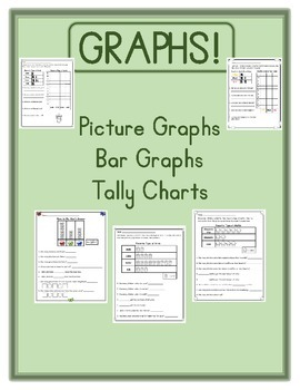 Graphs! Picture Graphs, Bar Graphs, and Tally Charts!