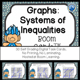 Graphs: Systems of Linear Inequalities Boom Cards--Digital