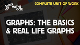 Graphs: The Basics & Real Life Graphs - Complete Unit of Work