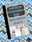 Graphs and Data Interactive Notebook Lessons {6.SP and 7.SP}