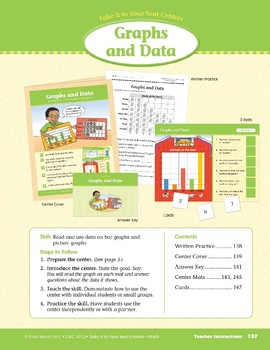 Graphs and Data (Take It to Your Seat Centers Common Core Math)