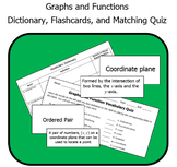Graphs and Functions Vocabulary - Dictionary, Flashcards, and Quiz