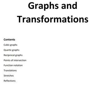Graphs and Transformations